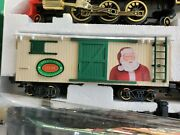 1991 Vintage New Bright Christmas Express Train Set Battery Powered