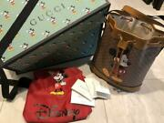 Disney X Collaboration Shoulder Bag Mickey Mouse Used From Japan