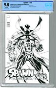 Spawn 300 Cbcs 9.8 Nmmt White Pgs 9/19 Anniversary Issue  Todd Mcfarlane