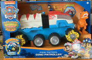 Paw Patrol Dino Rescue Dino Patroller Motorized Team Vehicle-chase And T. Rex