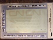 O Scale Microscale Decals 48-522 Canadian National Locomotives