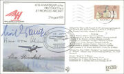 Hans Pabst Von Ohain - Commemorative Envelope Signed With Co-signers