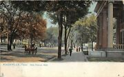 H32/ Knoxville Tennessee Postcard C1915 Main Avenue West Homes 13