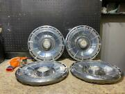 1 Set Vintage Chevrolet Monte Carlo Hubcap Wheelcover 1970 14 Inch 3128 2