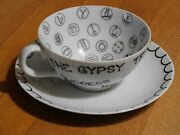 The Gypsy Teacup Tea Cup 1959 Originality Plus Fortune Teller Telling