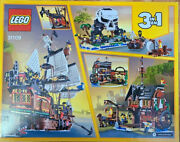 Lego Creator 31109 3 In 1 Pirate Ship 1260 Pieces Brand New Sealed Free
