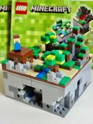 Lego Minecraft Micro World The Forest 21102 Rare Retired Set