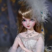 Full Set 1/3 Bjd Doll 60cm Princess + Changeable Eyes + Wigs + Clothes Girls Toy