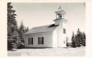 North Haven Me Old Pulpit Harbor Church Rppc 1957 Olive Used To Teach Here