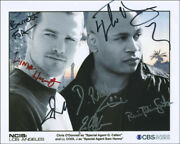 Ncis Los Angeles Tv Cast - Photograph Signed With Co-signers