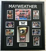 Floyd Mayweather Signed And Framed Boxing Glove Tbe Tmt Aftal Coa A