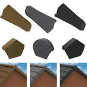 Universal Dry Verge Kit Complete Roof System For Gable / Apex Tile Roof End