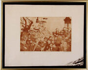 Charles Bragg - Procession Etching Signed Proof Second State Circa 1965