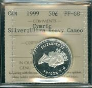 1999 Canada 50 Cents Canada Certified Finest Grade