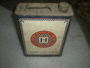 Vintage Hillyard Chemical Company Unopened Penetrating Seal Oil Can  Cclths