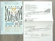 Fb-111 Aardvark 2 Usaf/tiger Meet/new Hampshire Special Microscale Decals 1/48
