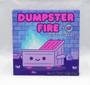 100 Soft Dumpster Fire Magical Trash Special Signed Rare Ready To Ship