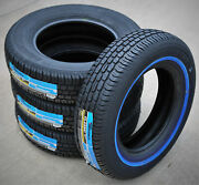 4 Tires Tornel Classic 205/75r15 97s White Wall A/s All Season