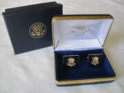 Collectible High-quality Donald Trump Presidential Cufflinks Double Gift Boxed