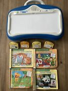 Leapfrog Little Touch Leap Pad Learning System Large Lot 4 Books
