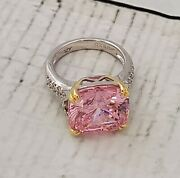 The Ring Of Versailles Anna Zuckerman Luxury Pink Sterling Silver 925 New