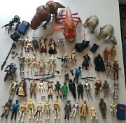 Huge Star Wars Lot Original 1970's - 2000 Action Figures Rare Toys Collectables