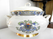 Lenox China Autumn Two - Handled Tureen Gold Backstamp - Mint, Never Used