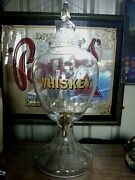 For Sale Is An Extremely Large Whisky Pub Decanter In Great Cond And Complete