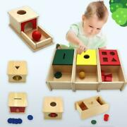 Kids Wooden Puzzles Memory Match Stick Fun Puzzle Board Educational Color Toys