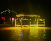 Hid Submersible Dock Lighting. Illuminate Your Dock With A Vivid Yellow Glow