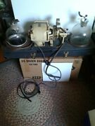 Hydrol Chemical Co Phil. Pa Antique Embalming Mach. Pump W/ Two- 4 Quart Bottles