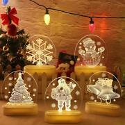 Led 3d Decoration Lights Outdoor Lighted Christmas Lamp For Xmas Party Home New