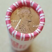 2010 P Lincoln Shield Pennies, Cent, 1 B. Unc. H's/tails N. F. String Roll.