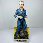 Old Commonwealth Ceramic Decanter Surface Miner Vgc Empty Fast Ship