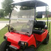 For Club Car Ds 2000.5 -up Golf Cart Acrylic Folding Tinted Windshield