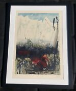 Victory A Song Of Thanksgiving Salvador Dali Orig Hand Signed 107/250 Litho Coa