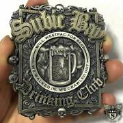 Subic Bay Drinking Club Us Navy Custom Engraved Military Challenge Coin - Unique