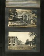 Singapore And Ceylon Very Old Picture Postcard Lot Of 51 Postcard With Old Album