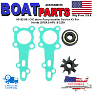 06192-881-c00 Water Pump Impeller Service Kit For Honda Bf8a 8 Hp 18-3279