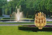 3 Layers 17 Sprinklers Brass Garden Pond Fountain Water Nozzle Spray Head 1-2and039and039