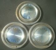 Vintage Lot Of 3 1972 1973 Plymouth Division Hubcaps 15 Gtx Satellite Fury