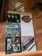Vintage Beatles Albums Lot Of 7 9 Recordswhite ,abbey Road,and More Free Ship
