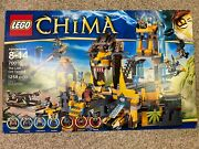 Lego Chima 70010 The Lion Chi Temple - All Pieces Figures Box