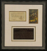 Connecticut Revolutionary War - Promissory Note Signed 10/09/1781 With Co-signer
