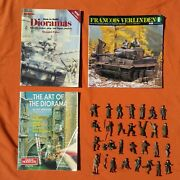 Vintage Diorama Books And Figures World War 2 Soldiers 1/32 Tamiya How To Build