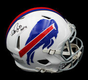 Andre Reed Signed Buffalo Bills Speed Authentic Nfl Helmet With Hof 14 Insc