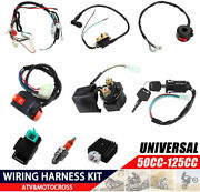 50cc-125cc Cdi Wire Harness Stator Assembly Wiring Kit Chinese Atv Electric Quad