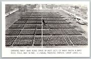 Great Lakes Il Troops Massive Gathering For Navy Bond Driverppc Wwii 1943