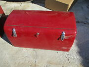 1930s Cadillac Duesenberg 39 1/2 Luggage Trunk No Suitcases With Key 2