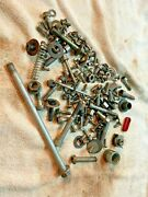 Bmw Oem Motorcycle Parts Lot - Assorted Bolts, Washers, Fasteners From The Boxer